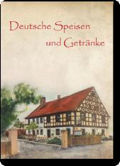 deutsche speisekarte getränke